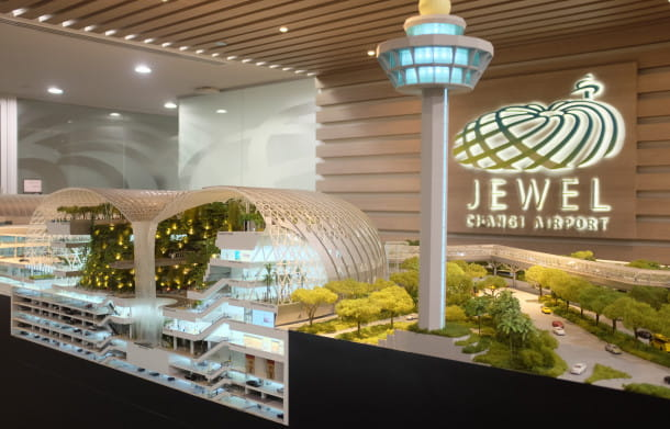 MAQUETTE DU JEWEL CHANGI AIRPORT