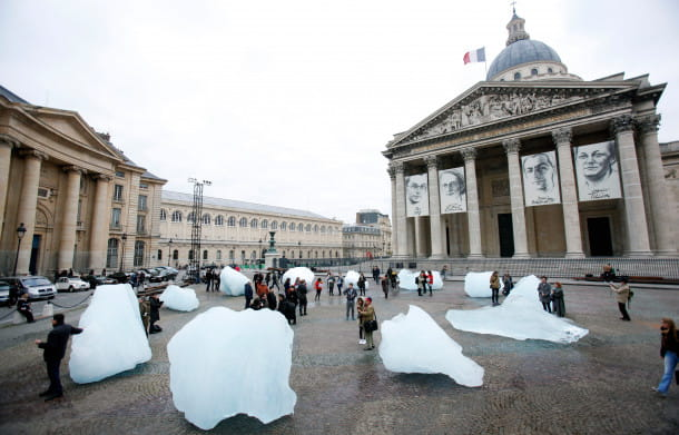 Ice Watch, 2014-2015, Place du Panthéon (Paris)