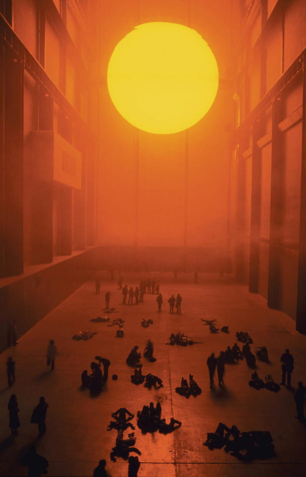 The Weather Project, 2003, Tate Modern (Londres)