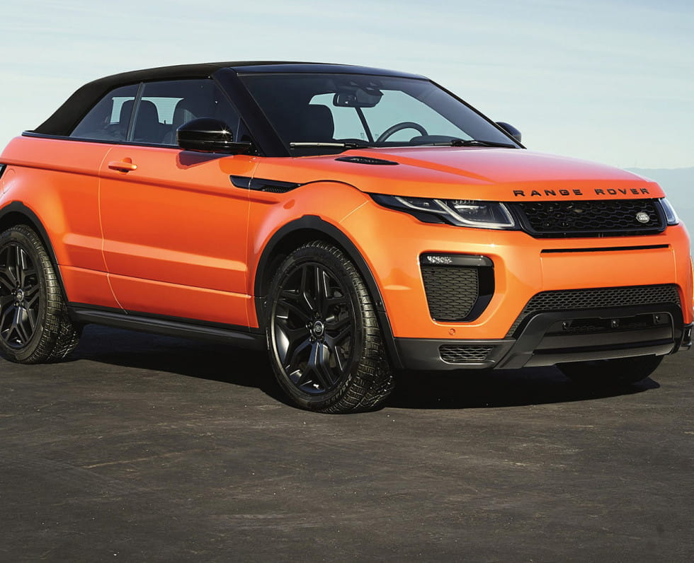 range rover evoque version cabriolet. Black Bedroom Furniture Sets. Home Design Ideas