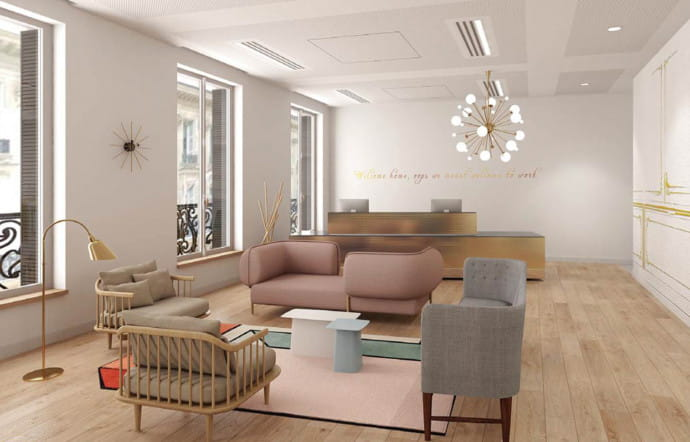 Coworking Spaces Opéra Garnier, d'inspiration Second Empire.