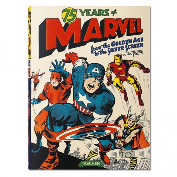 Le livre 75 Years of Marvel Comics by Roy Thomas