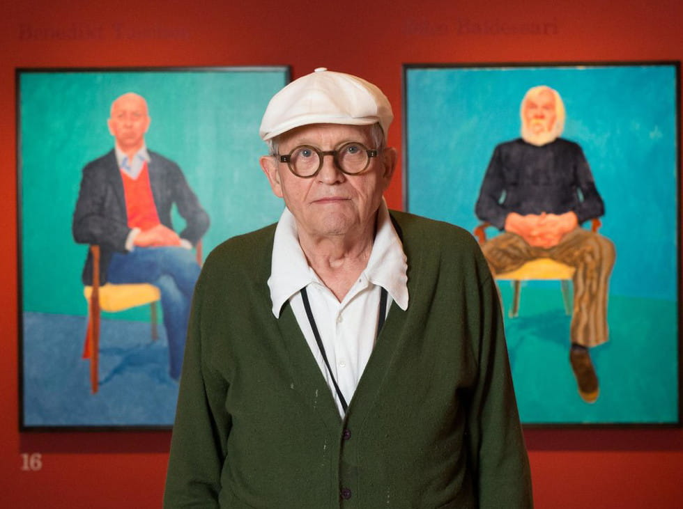 """Résultat de recherche d'images pour """"david hockney portrait"""""""