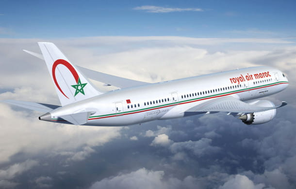 Royal Air Maroc.
