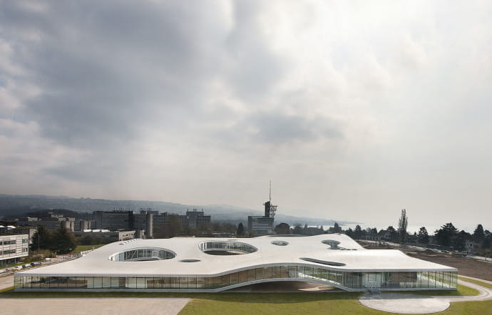 Sanaa. Rolex Learning Center i Lausanne.